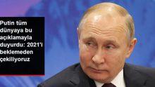 """Putin: Rusya """"Stratejik Silahların Azaltılması Anlaşması""""ndan çekilecek"""