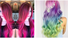Görenlerin Hayranlıkla Baktığı Gökkuşağı Saç Modelleri