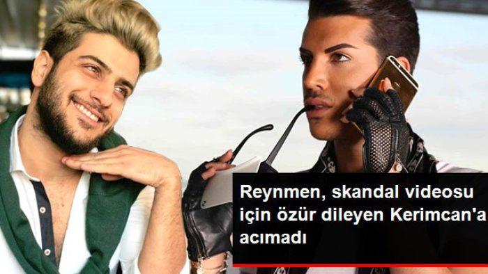 Reynmen, Müstehcen Videosuyla Tepki Çeken Kerimcan Durmaz'ı Tiye Aldı