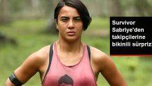 Survivor Sabriye, Sosyal Medya Hesabından Bikinili Pozunu Paylaştı