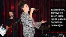Şarkıcı Dilan Çıtak Tatlıses'ten, Jennifer Lopez'e ilginç yorum: Ya kulisi ya da sahneyi basacağım