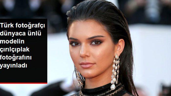 Mert Alaş, Kendall Jenner'ın Çırılçıplak Fotoğrafını Yayınladı
