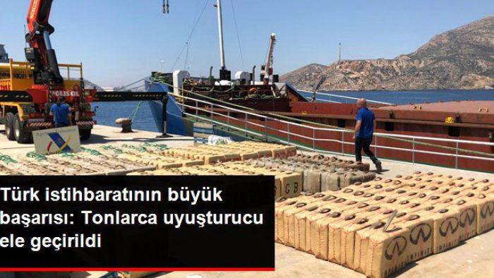 Türk istihbaratının büyük başarısı: 12 ton esrar ele geçirildi