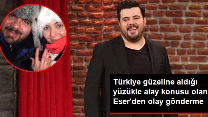 Türkiye Güzeline Aldığı Tektaşla Alay Konusu Olan Eser Yenenler'den Olay Gönderme !