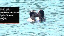 Dilan Çiçek Deniz ve Furkan Andıç, Denizde Birbirini Öpücüklere Boğdu