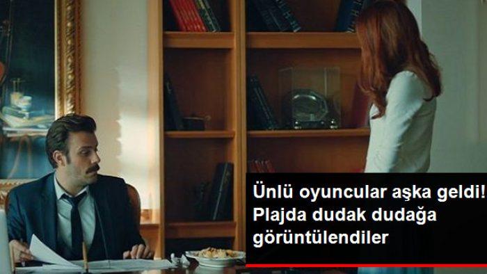İstanbullu Gelin'in Fikret'i Salih Bademci ve Eşi İmer Özgün, Evliliklerinin Birinci Yılında Dudak Dudağa Görüntülendi
