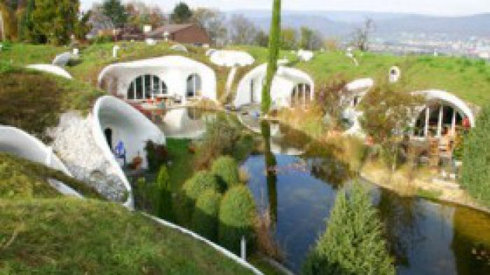 Muhteşem yeraltı evleri