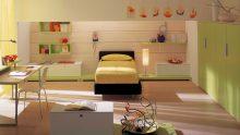 Yeşil Renkli Çocuk Odası Modelleri